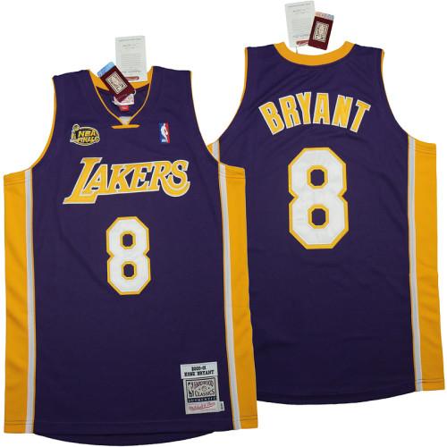 Kobe Bryant #8 Purple 2000-01 Retro Classics Authentic Jersey