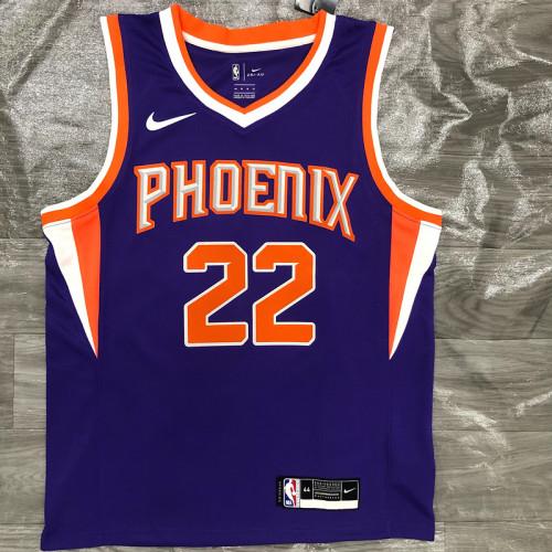 Thai Version Men's DeAndre Ayton 2020-21 Purple Swingman Player Jersey - Icon Edition