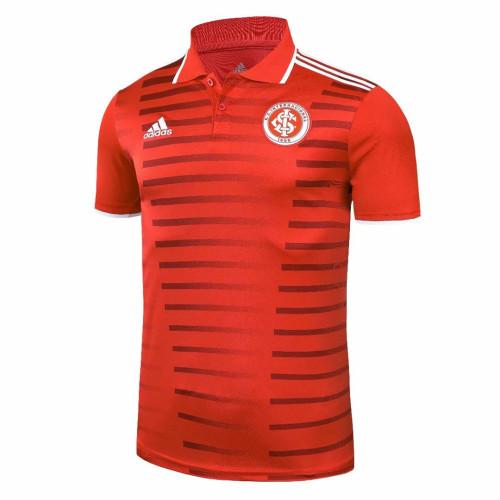 SC Internacional 2021 Pre-Match Polo Shirt - Red