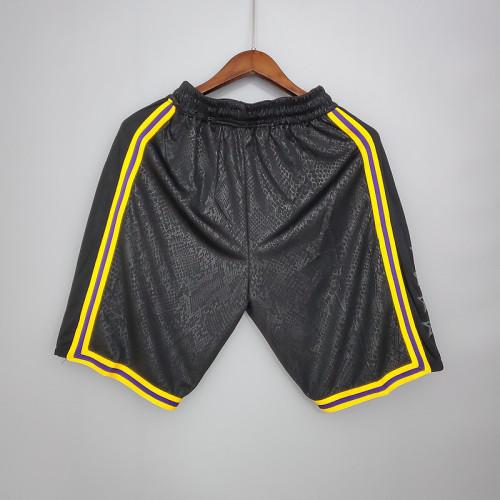 Thai Version Men's Black 2020-21 Swingman Shorts - City Edition