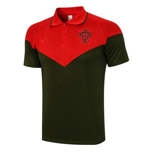 Portugal 2021 Pre-Match Polo Kit C659#