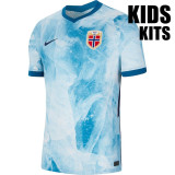 Kids Norway 20/21 Away Jersey and Short Kit