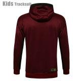 Kids Paris Saint-Germain 21/22 Full-Zip Hoodie Tracksuit E523#