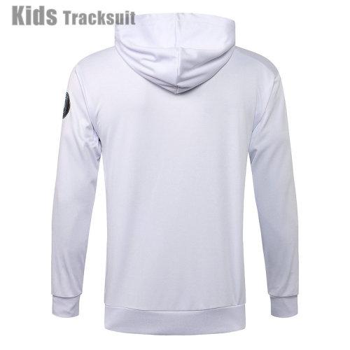 Kids Paris Saint-Germain 21/22 Hoodie Tracksuit E522#