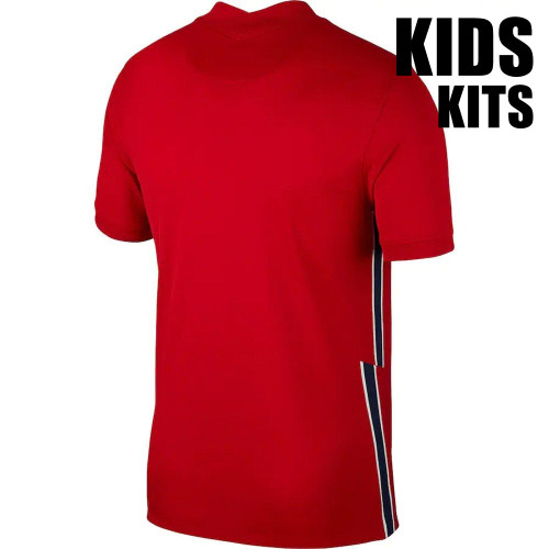 Kids Norway 20/21 Home Jersey and Short Kit
