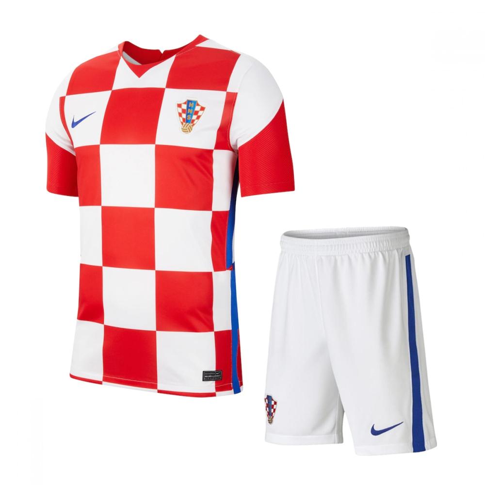 Croatia 2021 Home Jersey and Short Kit
