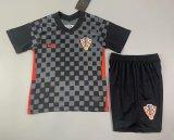 Kids Croatia 2021 Away Jersey and Short Kit