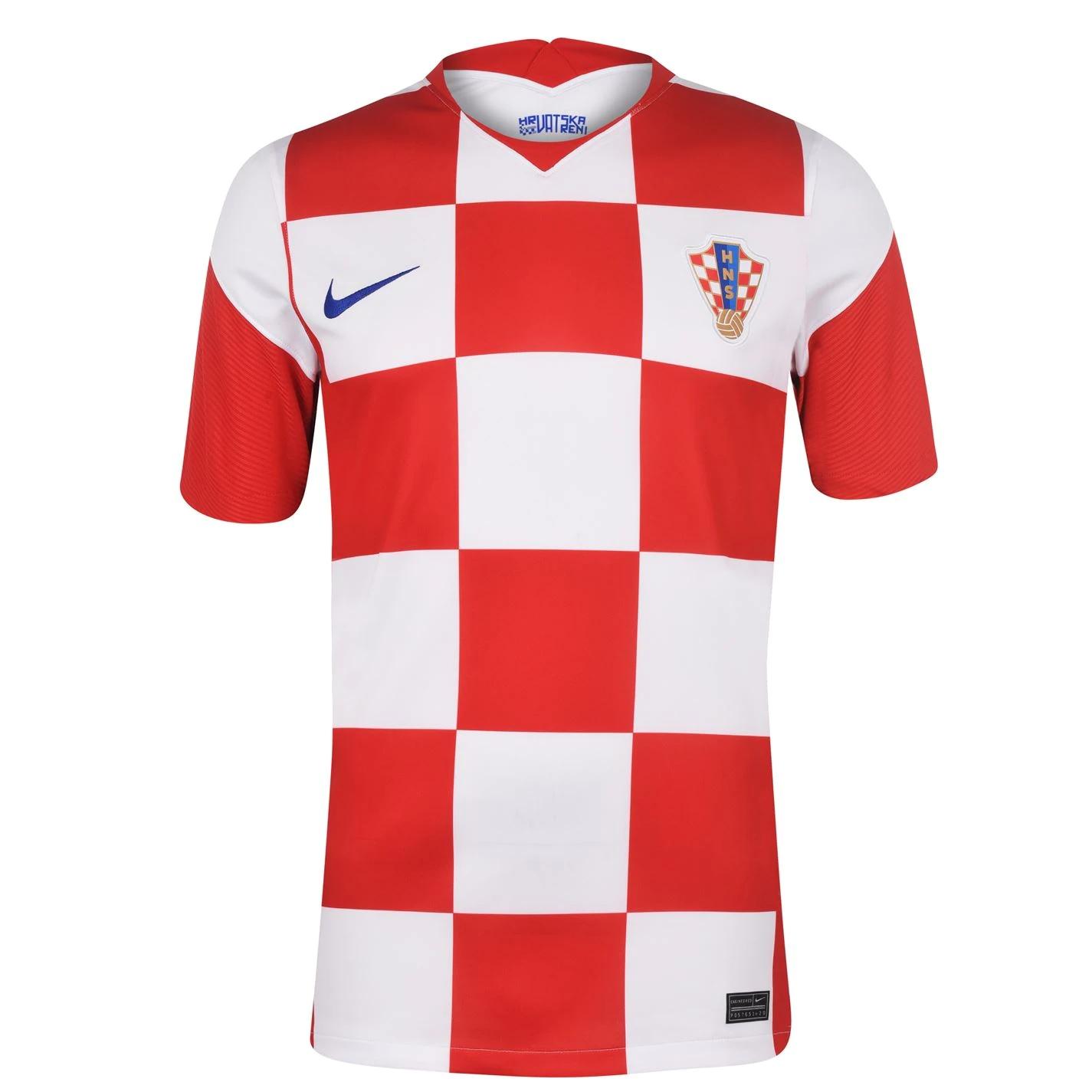 Thai Version Croatia 2021 Home Jersey