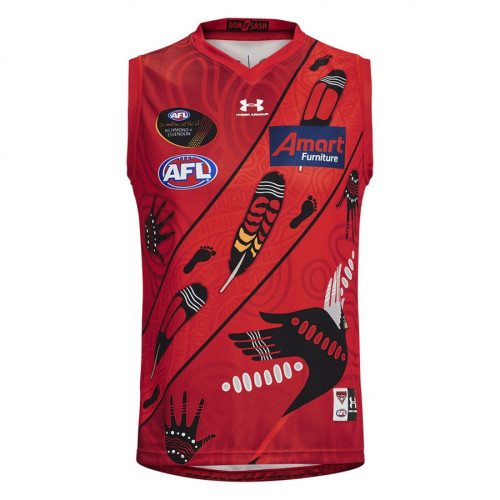 Essendon Bombers 2021 Men's Rugby Dreamtime Guernsey
