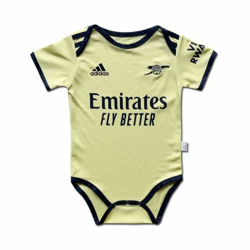 ARS 21/22 Away Infant Rompers Yellow