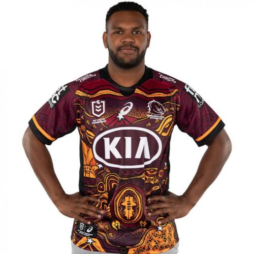 Brisbane Broncos 2021 Men's Indigenous Rugby Jersey