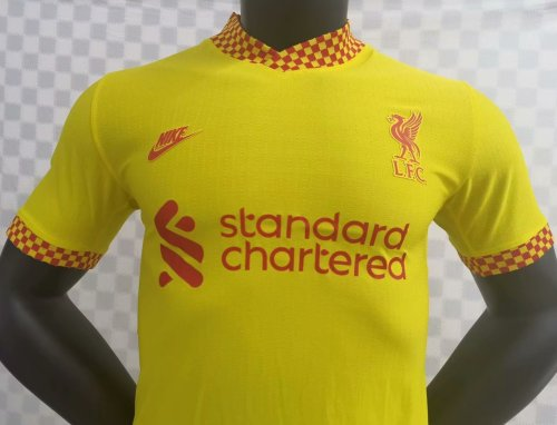 Player Version Liverpool 21/22 Third Authentic Jersey