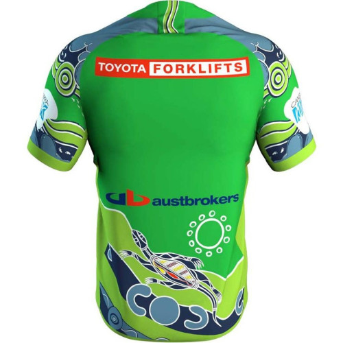 Canberra Raiders 2021 Men's Indigenous Rugby Jersey