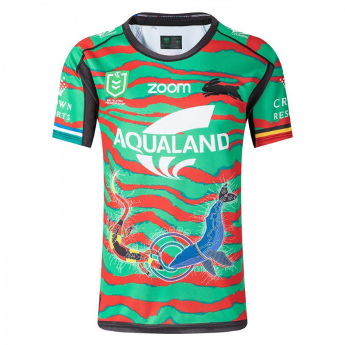 South Sydney Rabbitohs 2021 Mens Indigenous Rugby Jersey