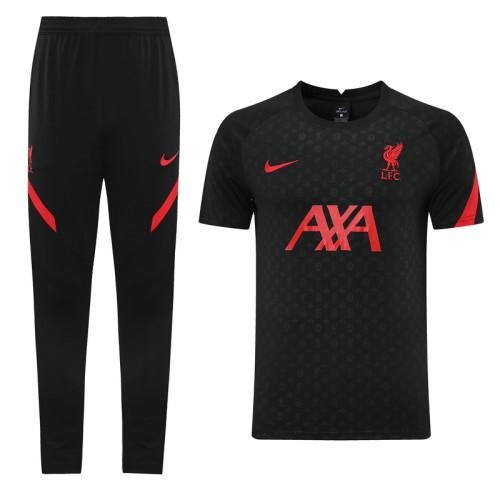 Liverpool 21/22 Training Kit Black DC01