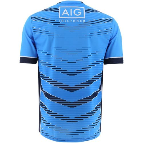Dublin GAA 2021 Mens Training Rugby Jersey Blue