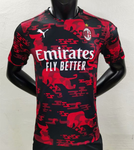 Player Version AC Milan 2021 Chinese New Year Authentic Jersey