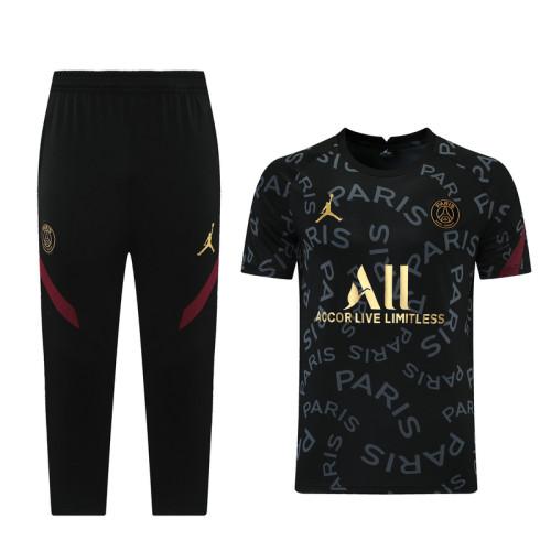 Paris Saint-Germain 21/22 Training Kit Black DQ02