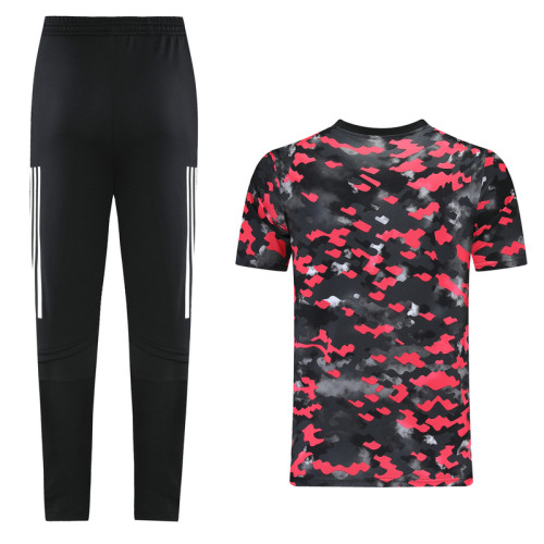 ARS 21/22 Training Kit Black and Red DC07