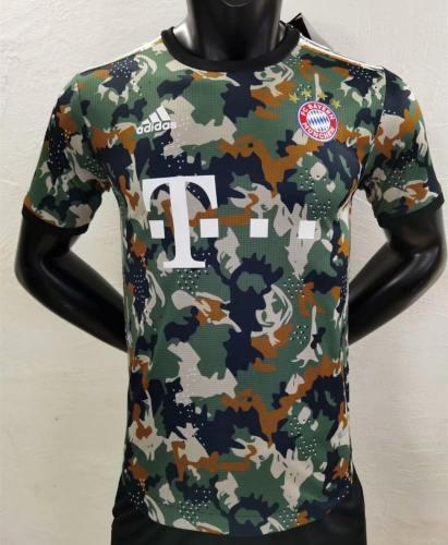 Player Version Bayern Munich 21/22 Camo Authentic Jersey
