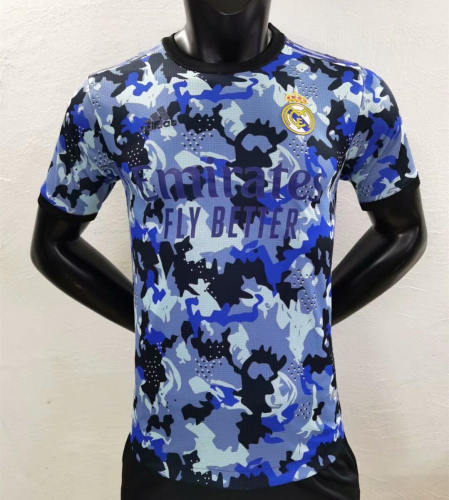 Player Version Real Madrid 21/22 Camo Authentic Jersey