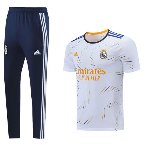 Real Madrid 21/22 Training Kit White DC11