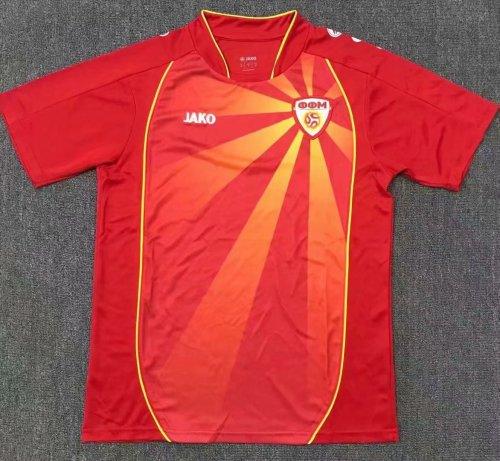 Thai Version North Macedonia 2021 Home Jersey