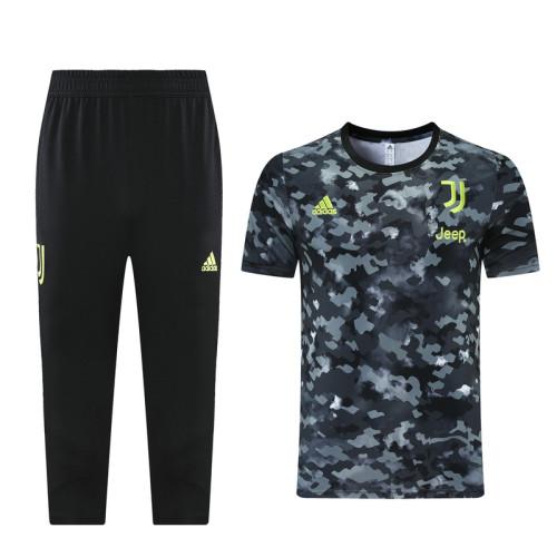 Juventus 21/22 Training Kit Blue DQ08