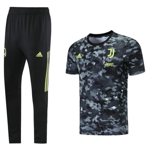 Juventus 21/22 Training Kit Blue DC08