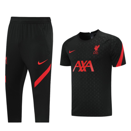 Liverpool 21/22 Training Kit Black DQ01