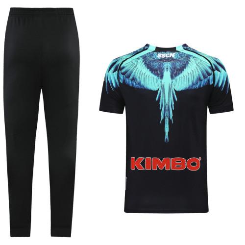 Napoli 21/22 Training Kit Black and Blue DC13