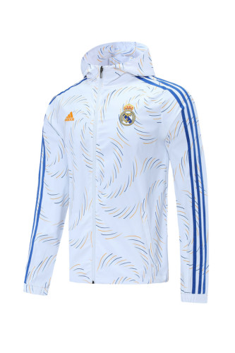 Real Madrid 21/22 Windbreaker White