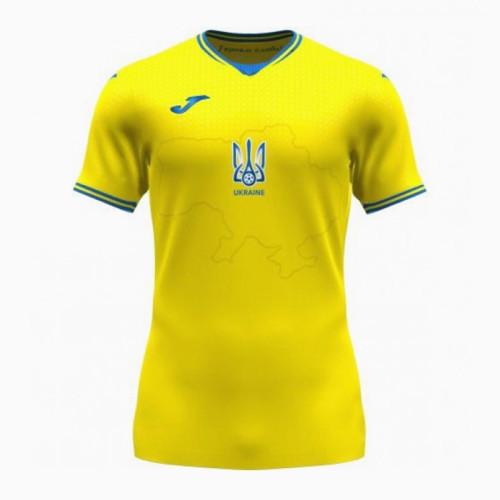 Thai Version Ukraine 2021 Home Jersey