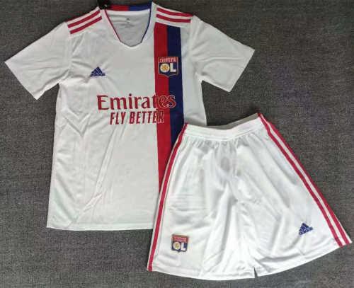 Olympique Lyonnais 21/22 Home Jersey and Short Kit