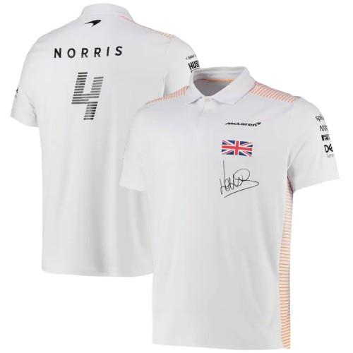 McLaren Lando Norris F1 Team Polo Shirt 2021