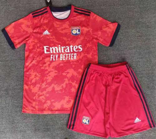 Olympique Lyonnais 21/22 Away Jersey and Short Kit