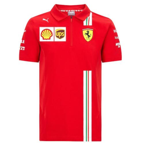 Scuderia Ferrari F1 Team Polo Shirt 2021