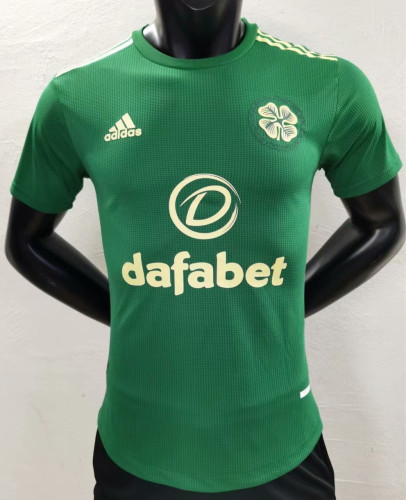 Player Version Celtic 21/22 Away Authentic Jersey