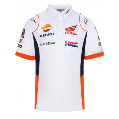 Repsol Honda 2021 MotoGP Team Polo Shirt - White