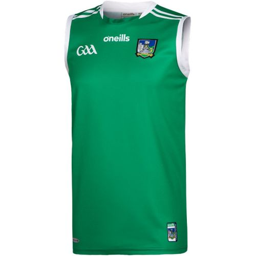 Limerick GAA 2021/22 Mens 2-Stripe Home Guernsey