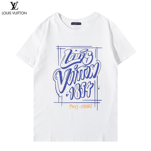 Luxury Fashionable Brand T-shirt White 2021.6.19