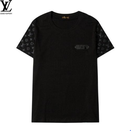 Luxury Fashionable Brand T-shirt Black 2021.6.19