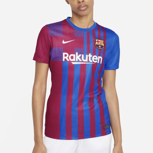 Thai Version Women's Barcelona 21/22 Home Jersey