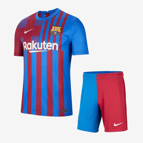 Barcelona 21/22 Home Jersey and Short Kit