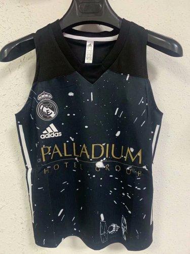 Real Madrid 21/22 Pre Match Training Vest - Black