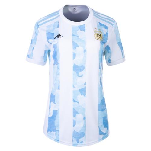 Thai Version Women's Argentina 2021 Home Jersey