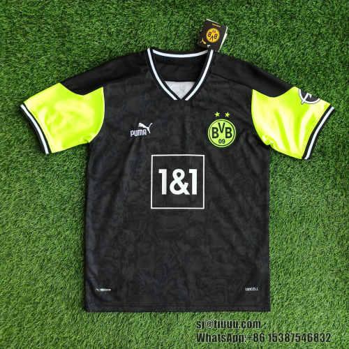 (On Sale) Borussia Dortmund 20/21 Fourth Jersey and Short Kit