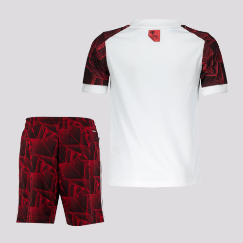 Kids Flamengo 2021 Away Jersey and Short Kit