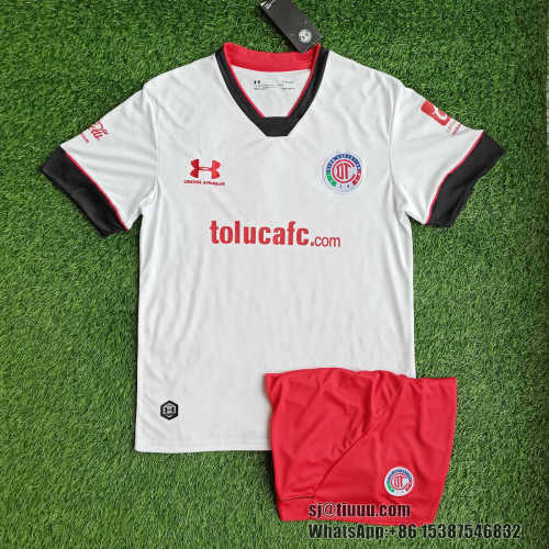 (On Sale) Deportivo Toluca 21/22 Away Jersey and Short Kit
