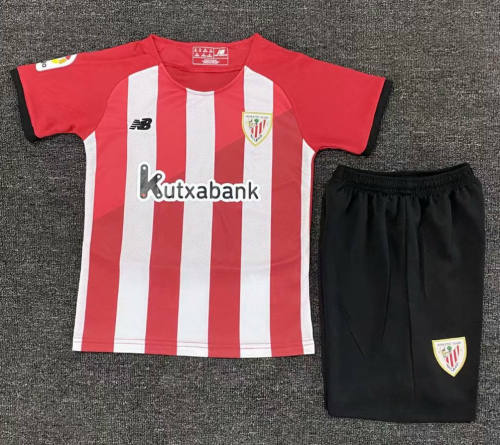 Kids Athletic Bilbao 21/22 Home Jersey and Short Kit